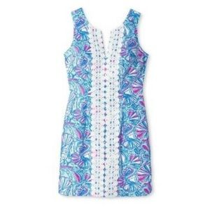 Lilly Pulitzer for Target Split-Neck Shift Dress